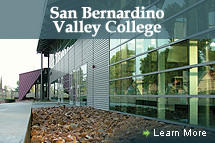 San Bernardino Valley College - Learn More