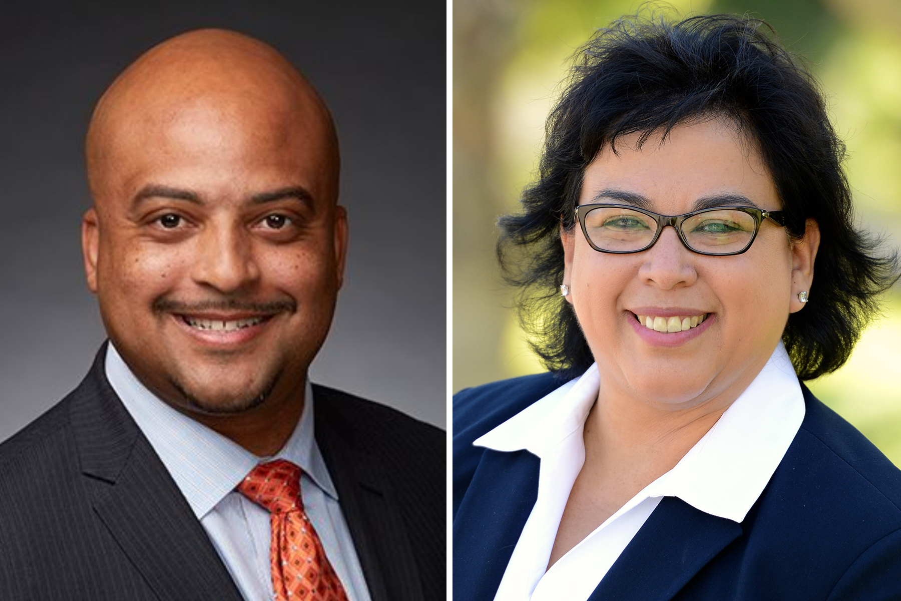 Dr. Edward Bush and Diana Rodriguez are finalists to become SBCCD's 15th Chancellor