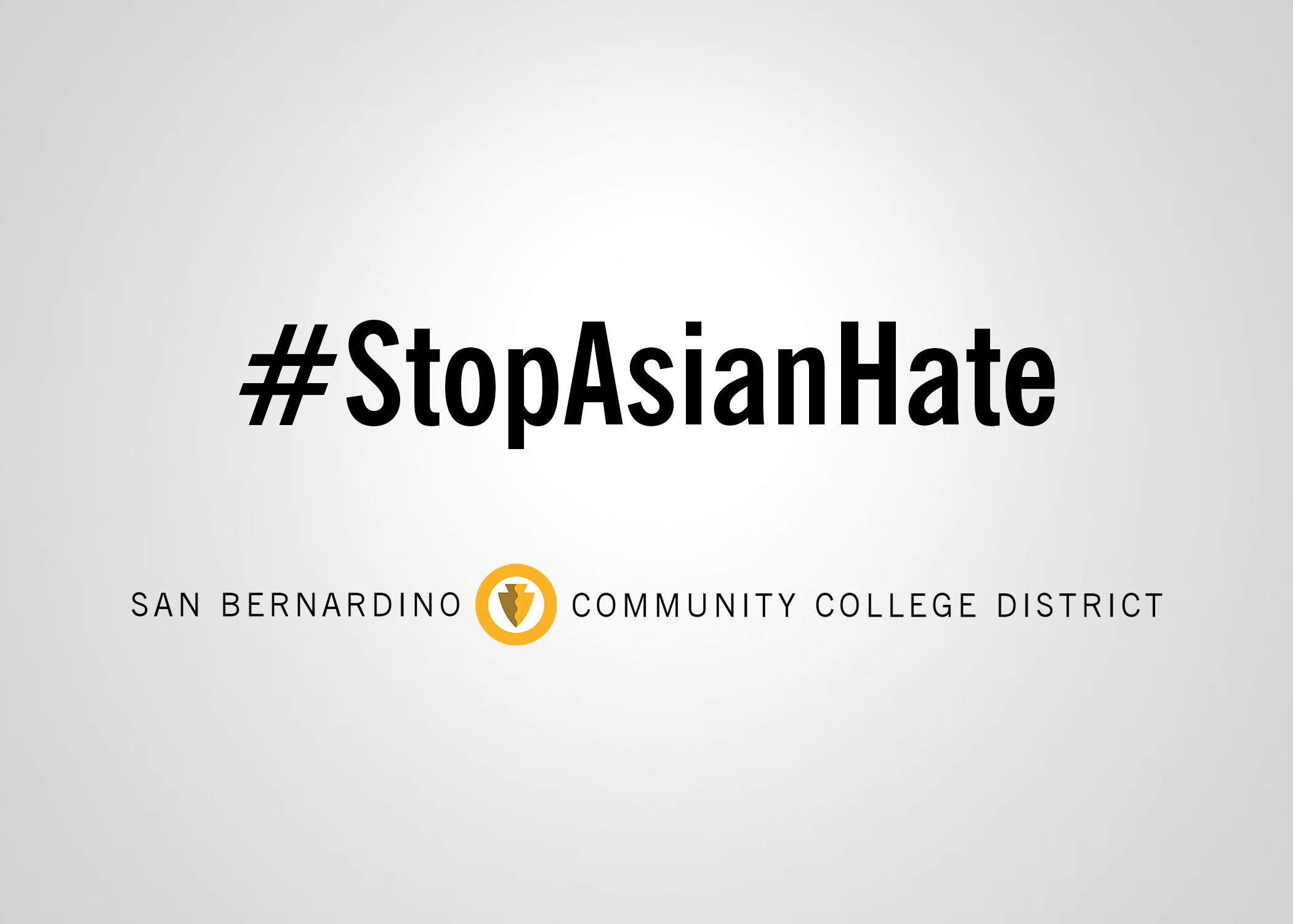 SBCCD: Stop Anti-Asian Discrimination & Violence